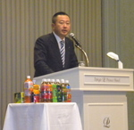 伊藤園の本庄大介社長=好調の主要子会社2社の近況と事業展開を語る